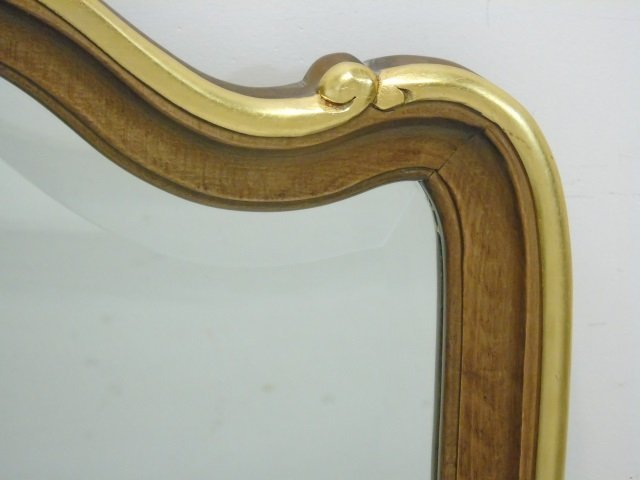 Italian Made Baroque Style Carved Mirror Frame - 4