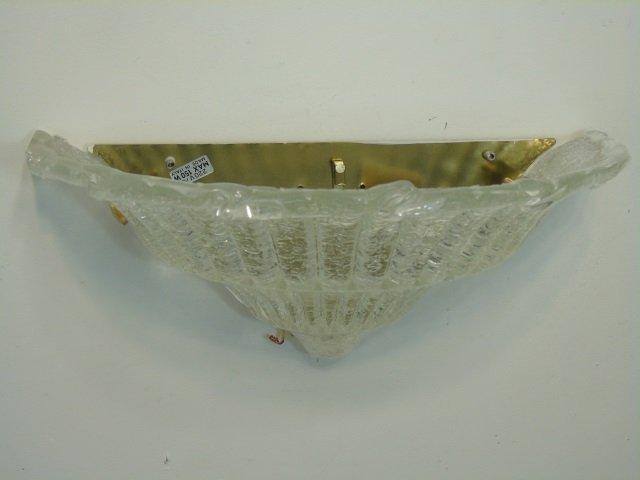 Pair Murano Glass Modern Wall Sconces - 2