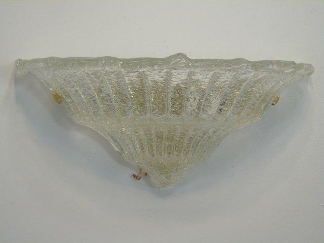 Pair Murano Glass Modern Wall Sconces - 3