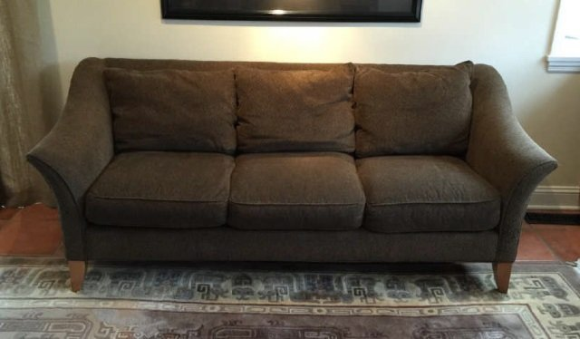 Contemporary Maurice Villency Upholstered Sofa