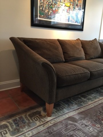 Contemporary Maurice Villency Upholstered Sofa - 3