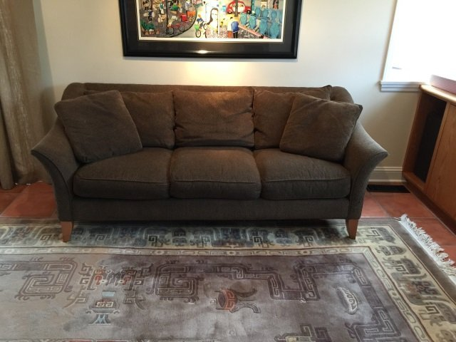 Contemporary Maurice Villency Upholstered Sofa - 5