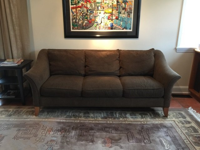 Contemporary Maurice Villency Upholstered Sofa - 6