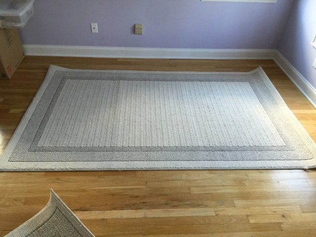 Two Contemporary Textured Carpets from LL Bean - 5
