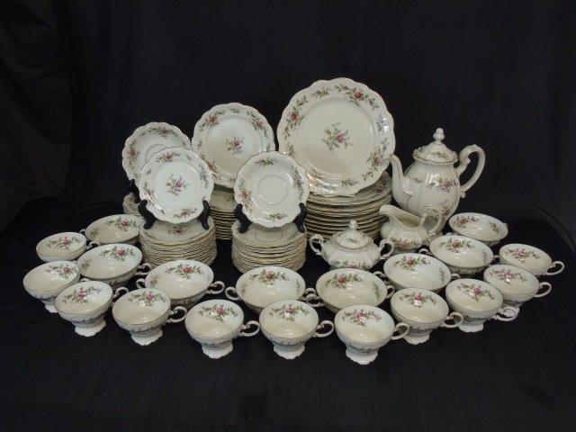 66 Piece Rosenthal Antoinette Porcelain Dinner Set