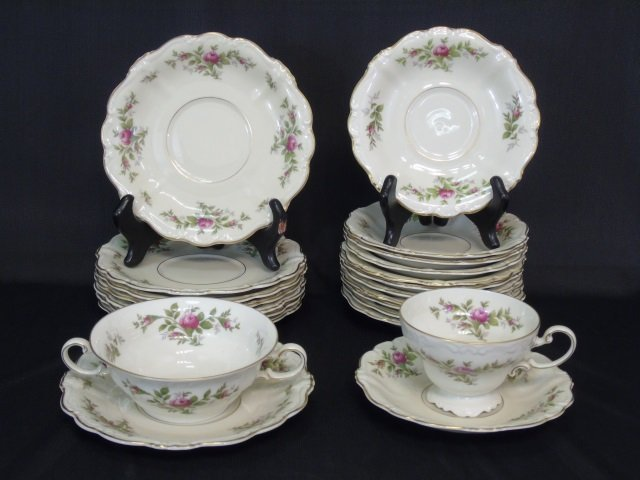 66 Piece Rosenthal Antoinette Porcelain Dinner Set - 5