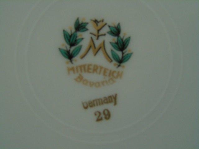 33 Piece Mitterteich Dessert & Coffee Set for 11 - 4