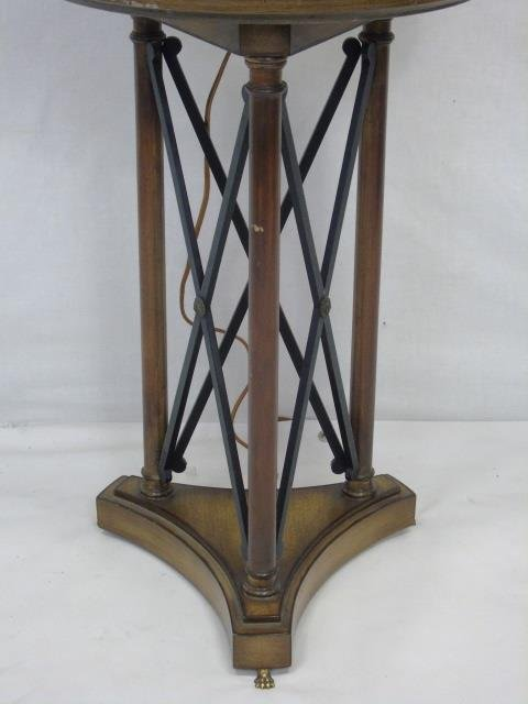 Neo Classical Style Floor Lamp w/ Table Surface - 5