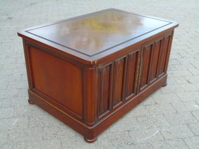 Mid Century Paneled Door Front Console Cabinet - 3