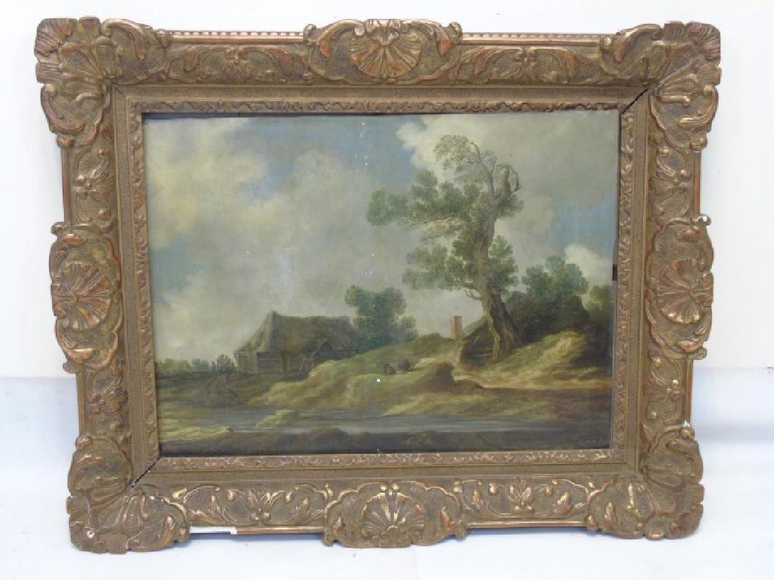 Jacob Isaackszoon van Ruisdael Attributed Painting