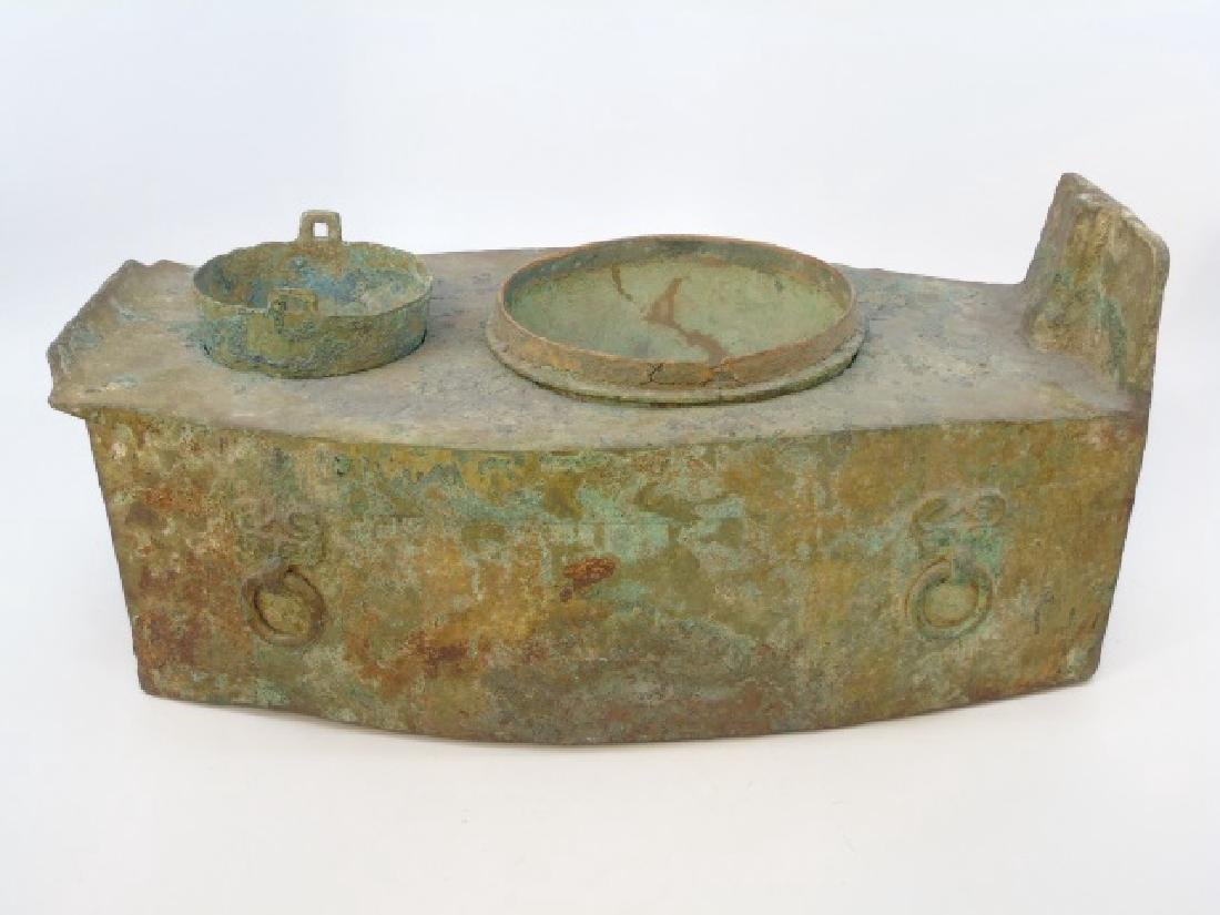 Ancient Han Dynasty Bronze Oven Sackler Collection