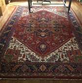 Large Hand Knotted Wool Persian Carpet