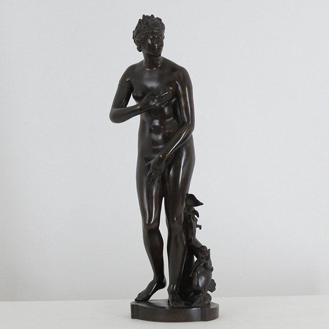 LARGE Signed Barbedienne Bronze Nude