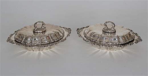 Gorham Sterling Silver Vegetable Covered Dishes