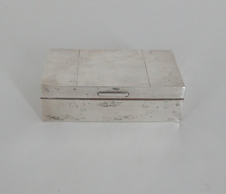 Padgett & Braham English Sterling Box