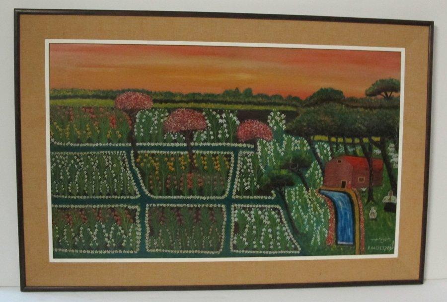Khalil Zgaib (Zgheib) Oil Painting - Lebanese 1911-1975
