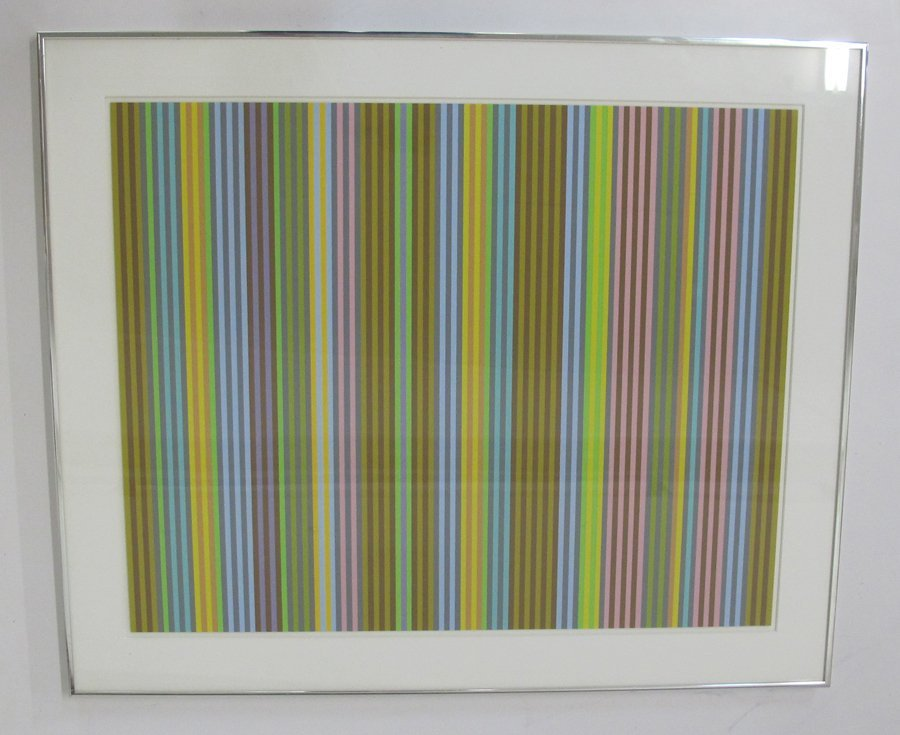 Gene Davis Lithograph HAND SIGNED and NUMBERED