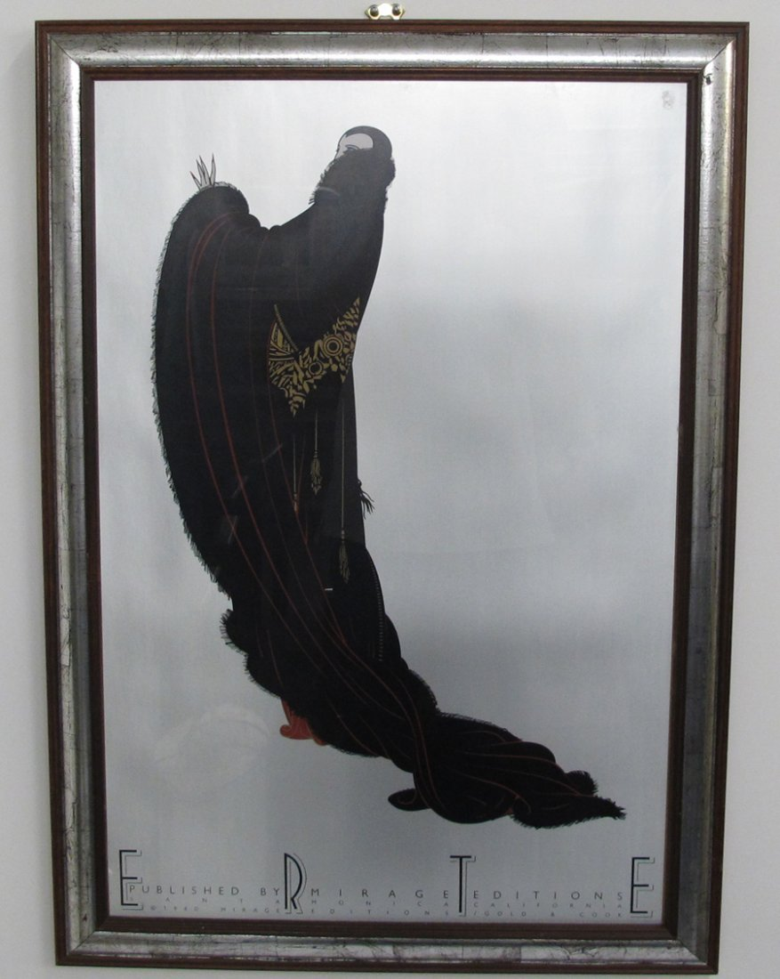 Erte Poster Mirage Editions