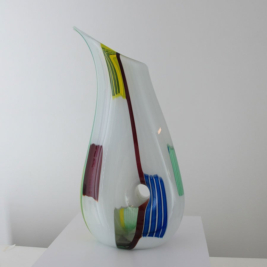 LARGE Murano Vase by Anzolo Fuga for AVEM