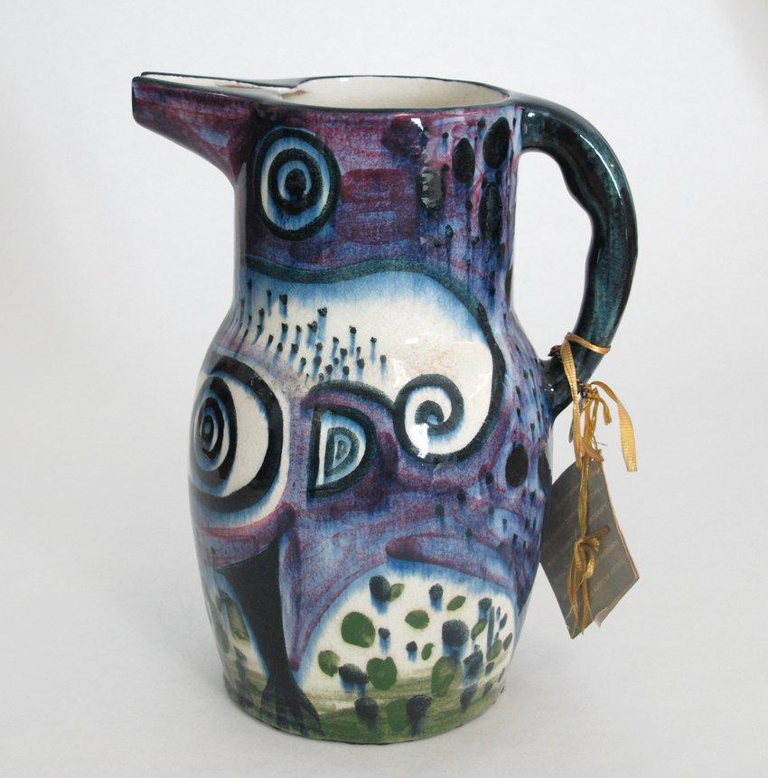 Stonelain Pottery Pitcher by Diego