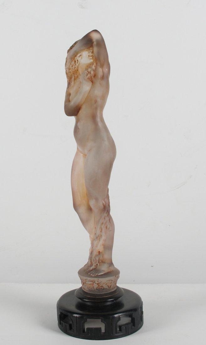 """Rene Lalique """"Grand Nue Lierre"""" Statuette R Lalique"""