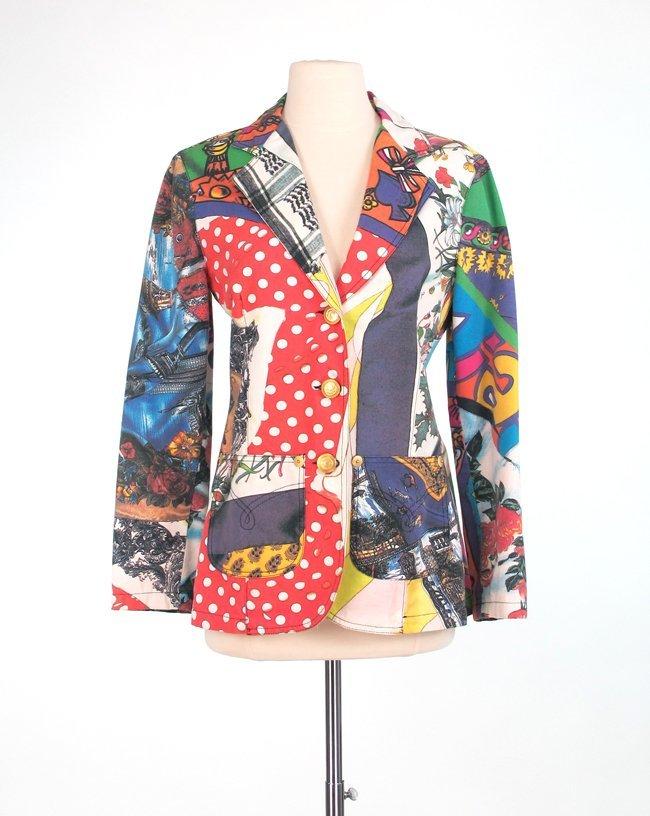 Moschino Printed Jacket
