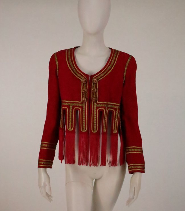 Moschino Couture/Cruise Me Baby Venice Fringe Jacket