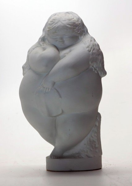 Botero Style sculpture by Ricardo Mesa