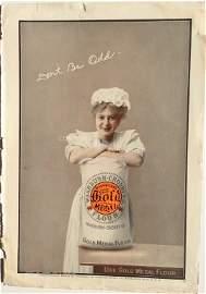 "Washburn Crosby ""Gold Medal Flour"" ad 1907/ Victor"