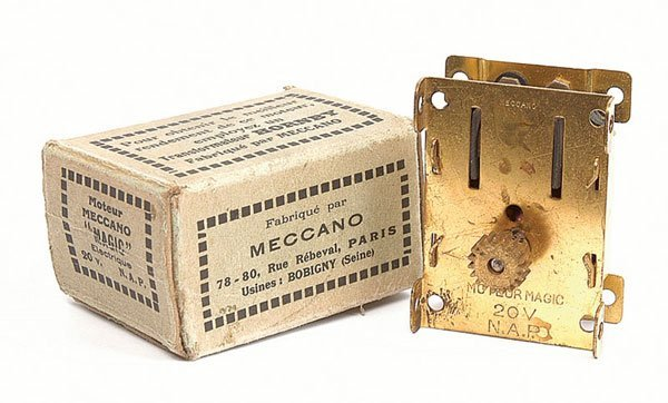 3006: French Meccano pre-war Electric Magic Motor