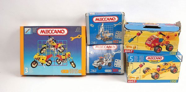 3011: French Meccano from the 1990s  no. of box sets