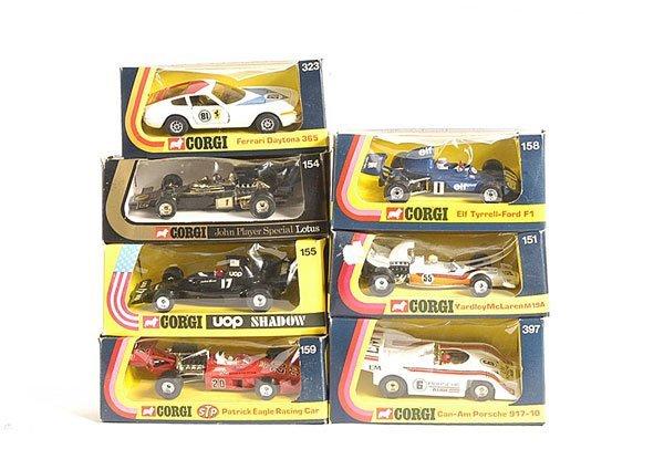 1: Corgi Boxed Racing and Sports Cars