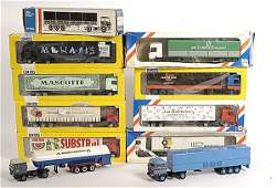 701: Lion Toys a mixed group of Articulated Lorries