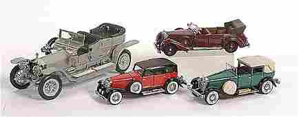 708: Franklin Mint, a group of 4 Cars.