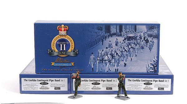 1009: Britains The Gurkha Contingent Pipe Band Sets