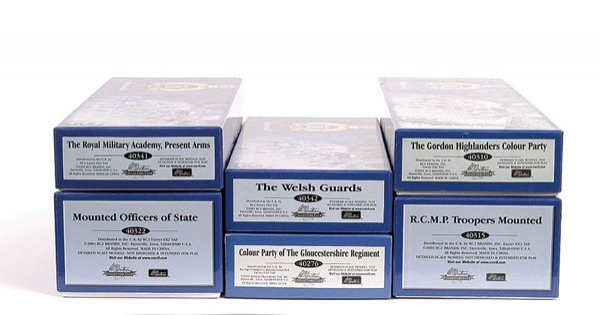 1019: Britains Collectors Club Golden Jubilee Sets