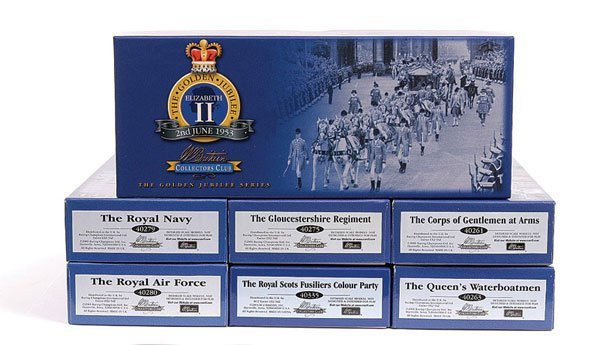 1020: Britains Collectors Club Golden Jubilee Sets