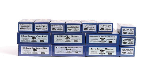 1021: Britains Collectors Club Golden Jubilee Sets