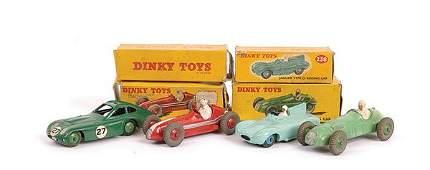 1234: Dinky - group of Racing Cars.