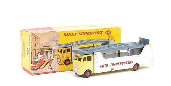 2464: Dinky No.989 Auto Transporters Car Carrier
