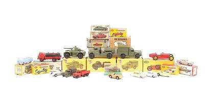 2592: A Group of Plastic & Diecast Cars & Commercials