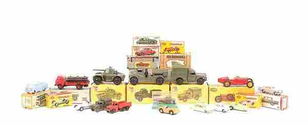 A Group of Plastic & Diecast Cars & Commercials
