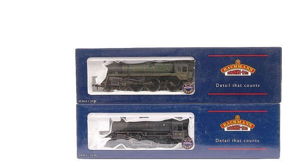 3007: Bachmann - A Pair of BR Steam Locomotives