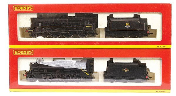 3015: Hornby - A Pair of BR Black Steam Locos
