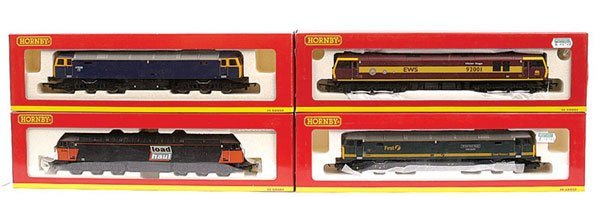 3016: Hornby - Co-Co Diesel & Electric Locos