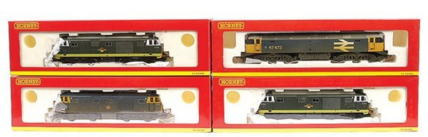 3020: Hornby - A Group of BR Diesel Locos