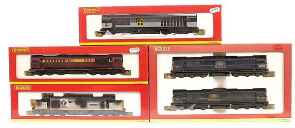 3021: Hornby - A Group of Co-Co Diesel Locos