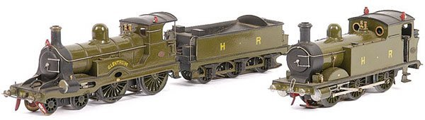 3248: Kit/Scratchbuilt 0-6-0 Tank Loco HR Green No.22