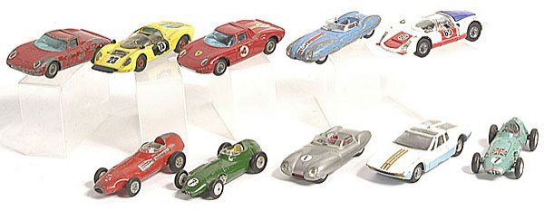 1: Corgi Sports Cars - A Group of 10