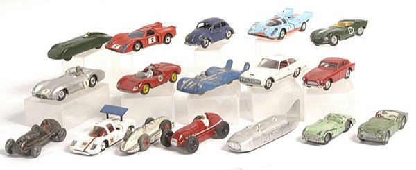 3: Dinky, Spot On and Other Racing Cars